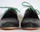 Handmade Asymetric Mary Jane Shoe