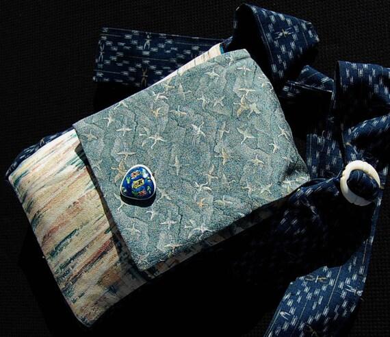 Shoulder Bag made from Vintage Kimono Silk