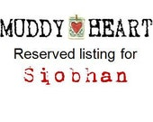 Reserved Listing for Siobhan