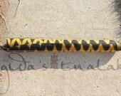 Philippine T'nalak (Ikat) Fabric 11 yards - Yellow Bells Pattern (Made to Order)