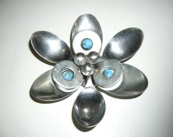 Spoon Flower Metal Magnet