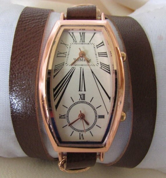 Special Double Movement Wrist Watch - Orlogin style. 20% Off - 69 Dolars Only. FREE SHIPPING