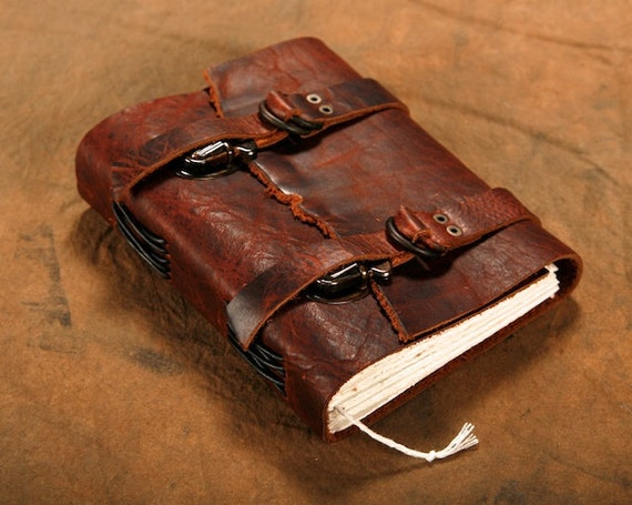 "Explorers Leather Journal // Brown // Diary // Notebook // Sketchbook // 5""x6"""