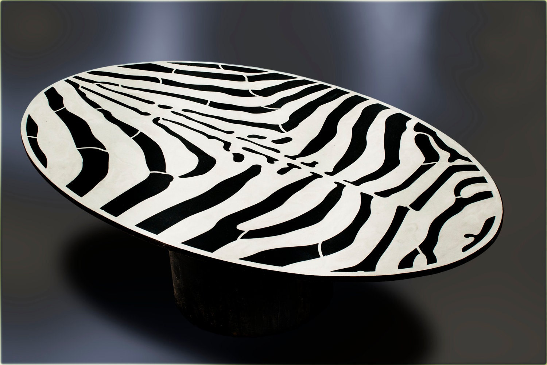 zebra coffee table top. Black Bedroom Furniture Sets. Home Design Ideas