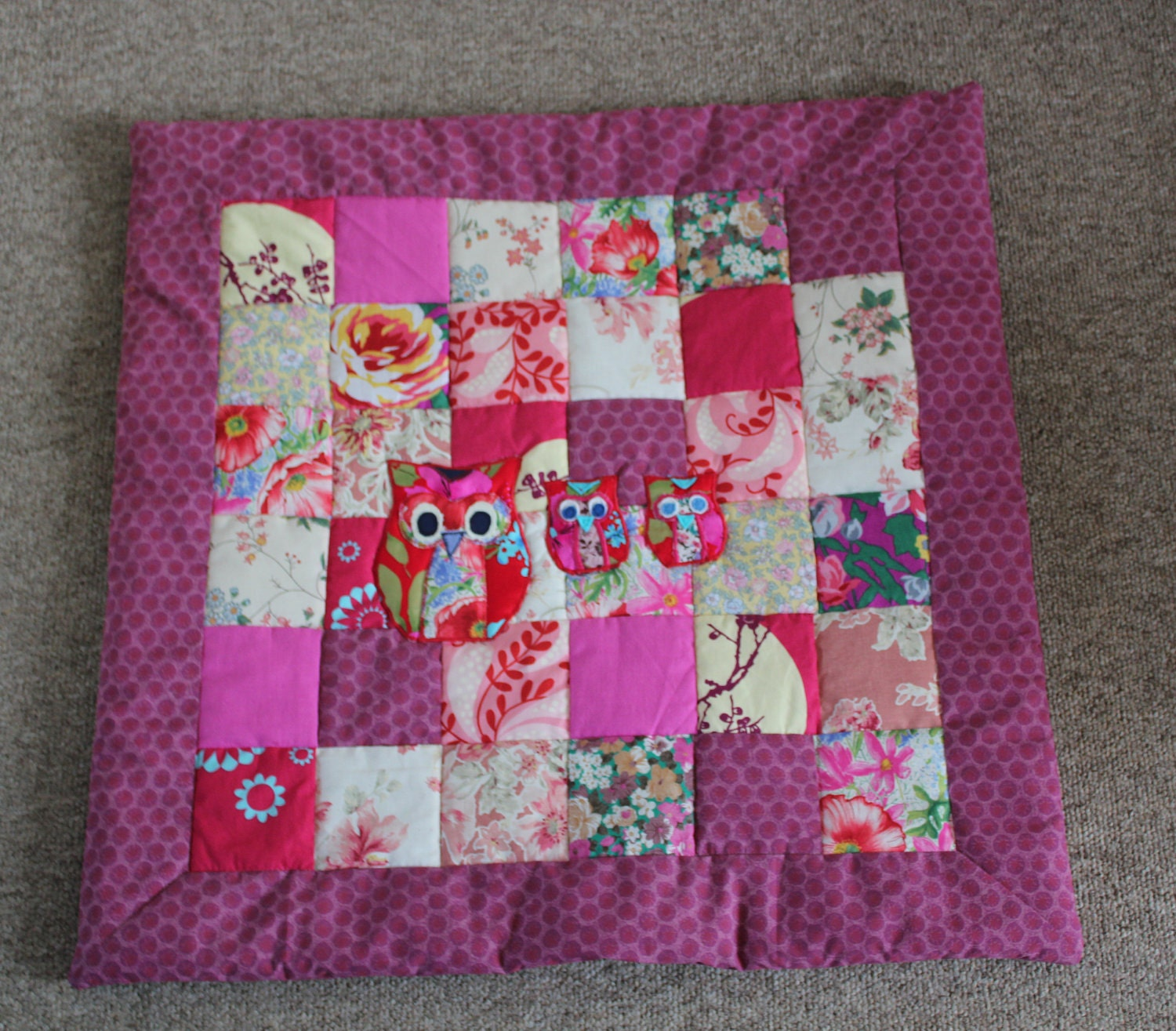 A Special Baby Quilt — Crafthubs : quilted play mat baby - Adamdwight.com