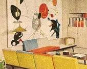 1960 MID CENTURY MODERN Decorating book Better Homes 1001 Decor Ideas