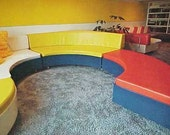 1975 HUGE MID CENTURY modern Interior Design Inside Today's Home book Faulkner