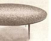 1957 MID CENTURY MODERN Mosaics Hobby and Art book Hendrickson mosaic tile design