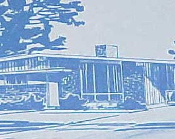 1972 101 Select Dream Houses Lang MID CENTURY MODERN house plans