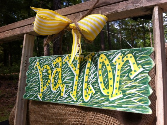 HOLIDAY SALE Baylor Bears Wired Sign