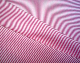 Pinky Pie Stripe Cotton Yardage