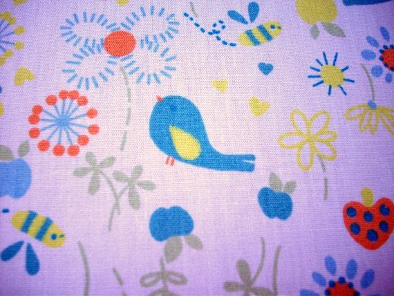 Little Bird 100% Cotton Broadcloth Fabric Yardage
