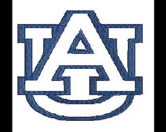 Auburn Applique Embroidery Design, Auburrn Tigers, AU (16) Instant Download