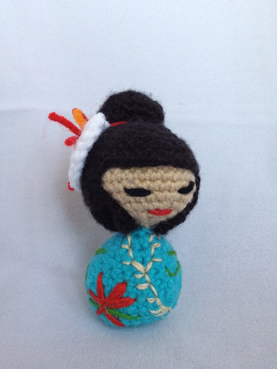 Pattern for Kokeshi Amigurumi Doll by MunisMinis on Etsy