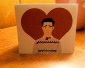 Joseph Gordon-Levitt Greeting Card