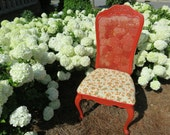 French Country Floral Accent Chair: ELISE