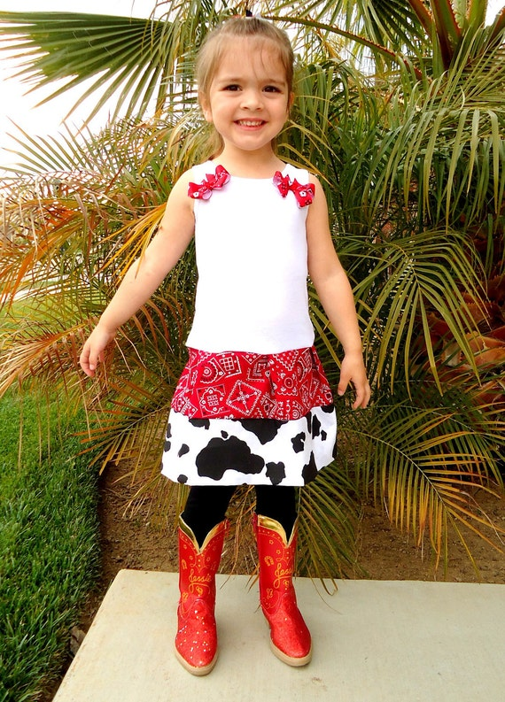 Cowgirl tank top dress