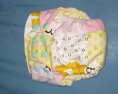 All In One (AIO) Cloth Diaper - One Size Fit Most (10-25 pounds)