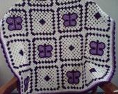 Crochet Butterfly Afghan, Granny Square Afghan, Granny Square Blanket, Crochet Baby Blanket, Crochet Blanket