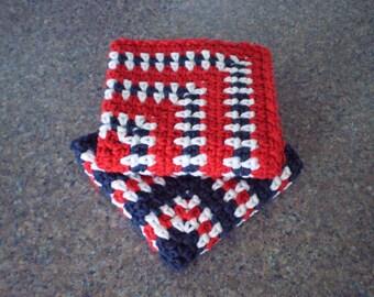 Crochet Dishcloth, Crochet Dish Cloths, Crochet Washcloth, Cotton Dishcloth, Cotton Washcloth, Dishcloth, Washcloth, Kitchen Towels