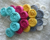 Rosette Necklace: Pick Your Color