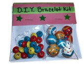 D.I.Y. Colorful Beaded Bracelet Kit, Handmade beads, Polymer Clay beads, Jewelry Kit, DIY Gifts, Christmas gifts, stocking stuffers