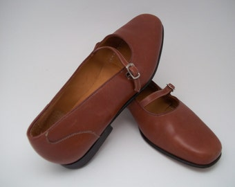 Lands' End Leather Shoes