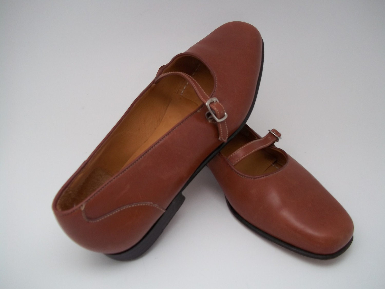 lands end leather shoes