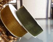 Organza Ribbon.Two Colors. 20 mm. Total 50 yard