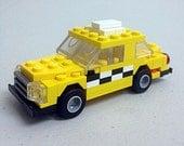 Taxi Cab Custom LEGO Kit (Series BKNY-101)