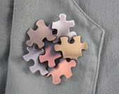 Autism Awareness Brooch