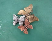 Butterfly Brooch- Butterfly Jewelry- Butterfly Pin