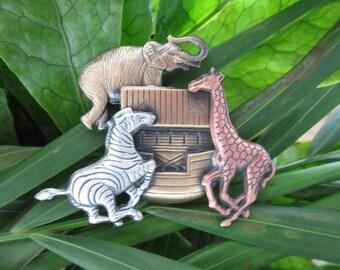 Noahs Ark Brooch- Noah's Ark gift