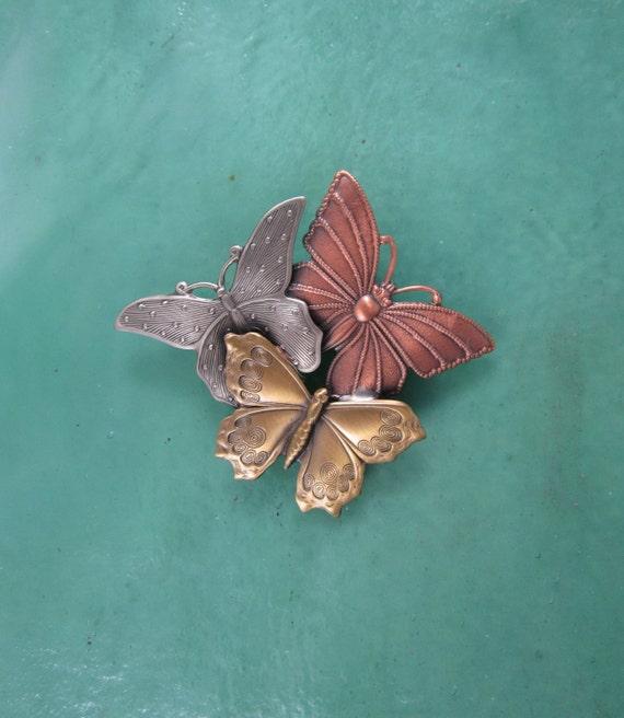 Butterfly Brooch- Butterfly Jewelry- Butterfly Pin