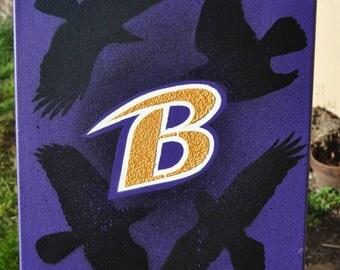Baltimore Ravens fine art by Summo