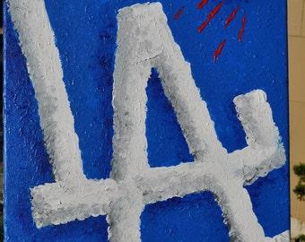 LA Dodgers Fine Art by Summo