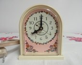 Vintage Timex Electric Clock, Chabby Chic 1960 Clock