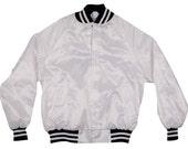 Vintage Nylon Jacket White West Ark