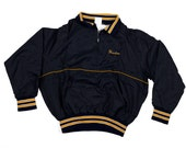 Vintage Nylon Jacket Navy/Yellow