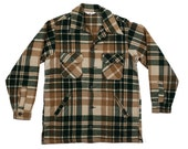 Vintage Flannel Jacket Woolrich