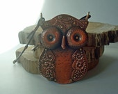 The Great Whoo - Riveted Copper Owl