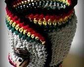 Rastafari Crochet Cuff