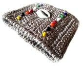 Tribal Crochet Cuff