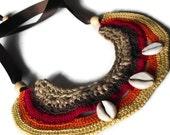 Africa Inspired Bib Neck Adornment