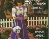 1996 Needlecraft Shop Barbie or Fashion Doll Eliza's Sunday Promenade Crochet Outfit ORIGINAL PATTERN