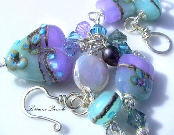 Lampwork  Bracelet Sorbet - SRA
