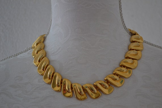 Vintage Modern Cleopatra's Collar choker Necklace