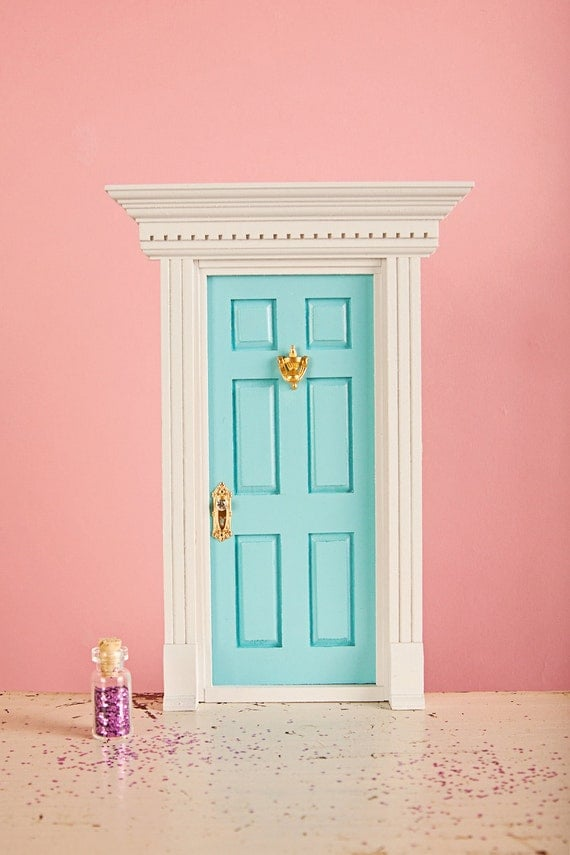 Items similar to tooth fairy door deluxe edition fully for Tooth fairy door