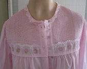 Vintage Barbizon Pink Bed Jacket,