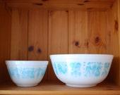 Vintage Pyrex - 2 mixing bowls